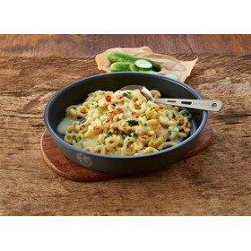 Trek'n Eat Emergency Food Can 500g, Creamy Pasta with Chicken and Spinach